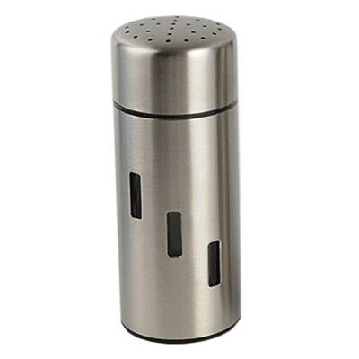 Stainless Steel Seasoning Bottle Can Double-sided Small Hole