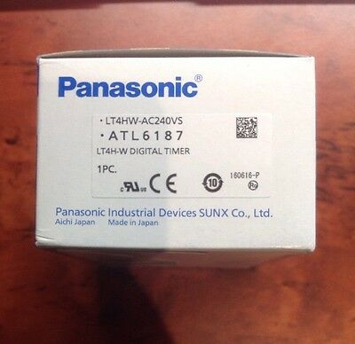Panasonic Electric Works  Lt4Hw-Ac240Vs  Timer, Twin, Screw, 240Vac