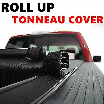 Lock Roll Up Soft Tonneau Cover For 07-13 TOYOTA TUNDRA 6.5ft 78 inch Bed