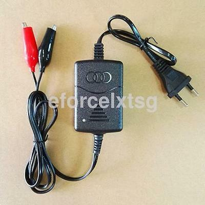 12V Battery Tender EU Plug for Motorcycle Car Truck Battery Maintainer Charger