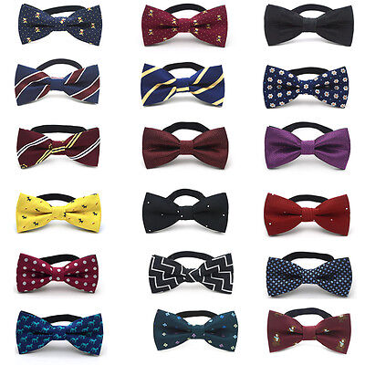 Child Kids Pre Tied Bow Tie Boys Toddler Infant Bowtie Wedding Party Necktie New