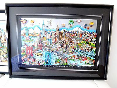 CHARLES FAZZINO A VIEW FROM THE BRIDGE NYC 3D Pop Art popart