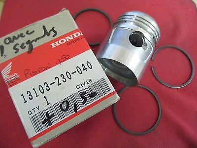 Piston & Segments ( +0.50 )Neufs Honda Cd 125 + Cb125 K5  1°Modele/13103-230-040