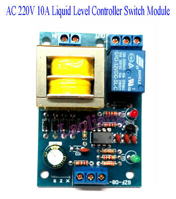 AC 220V 10A Liquid Level Controller Switch Water Level Detection Sensor Module D