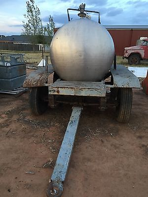 Stainless Steel Tank on a trailer