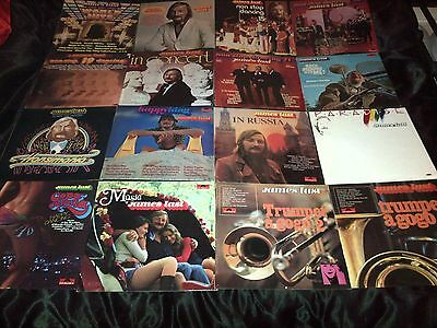 16 X James Last Vinyl LP's - JOBLOT