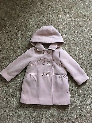 Girls coat 2-3 years M & S