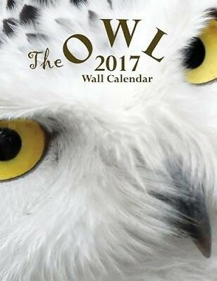 The Owl 2017 Wall Calendar by Aberdeen Stationers Co.