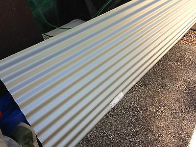 CORRUGATED IRON ROOFING SHEET ZINCALUME 3.7m LONG x 760mm WIDE BRAND NEW
