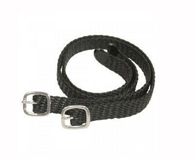 Shires Plaited Nylon Spur Straps – 707