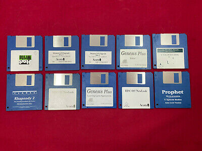 "10 3.5"" inch 720/800k DD Double Density Floppy Discs Atari, Amiga, Mac, Acorn PC"