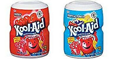 Kool Aid Cherry and Tropical Tubs 538g (1 of each)
