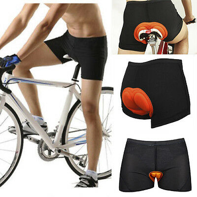 BOI Bicycle Bike Cycling Cycle Short Pant Underwear 3D Silicone Pad Breathable
