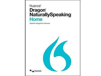 NUANCE Dragon Naturally Speaking Home 13 Version 13.0 - Product Key Card ✔NEW✔