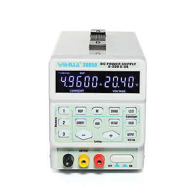 Yh-3005D Digital Program-Controlled Switching Bench Power Supply 5 Digit Display