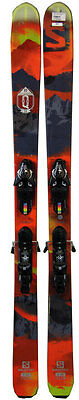 Salomon Q 98 Skis 180 cm with Z12 Bindings Red/Black - USED Value