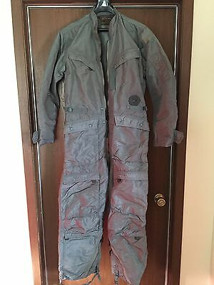 NAMED INSULATED FLIGHT SUIT ARMY AIR FORCE Full Body MD-3A
