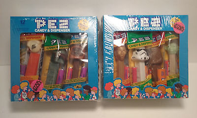 Star Wars Pez 24 count 2 box Set Factory Sealed