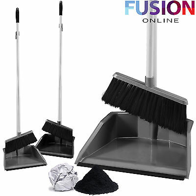 Eco Long Handle Handled Dustpan Dust Pan And & With Brush Set Sweeper Brush Set