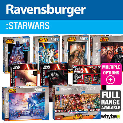 Ravensburger Star Wars Jigsaw Puzzles - 18 designs to choose from!