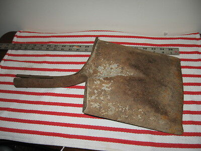 "Rusty Old Barn Find Worn Square End Shovel Head Only Steampunk 18"" USA"