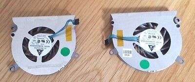Apple Macbook Pro 15 Left+Right Cooling Fans Matched  Pair A1211 A1226 A1260