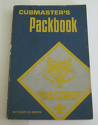 Boy Scouts of America - Cubmaster's Packbook BSA 1979 Printing