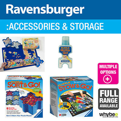 Ravensburger Puzzle Accessories and Stroage - 4 designs to choose from!