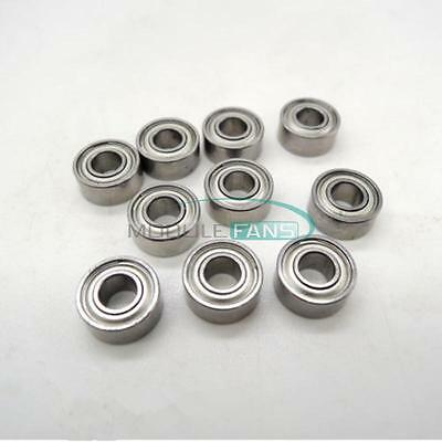10PCS MR62ZZ (2x6x2.5mm) Metal Shielded PRECISION Ball Bearings Mini Bearings MF