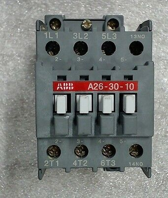 Used ABB contactor 26-30-10-84 110V 50Hz - 60 day warranty