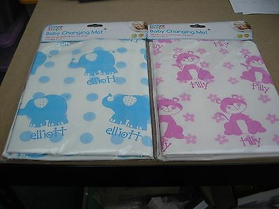 Blue /pink Portable Baby Travel Changing   Mat - Multi List