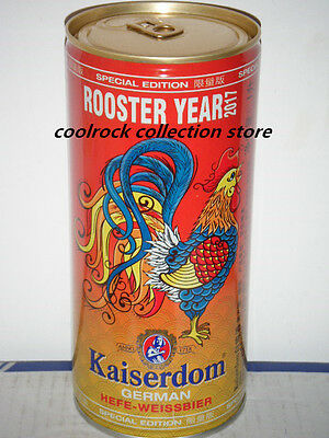 2017 China Kaiserdom beer Rooster Year beer can 1L/1000ml empty