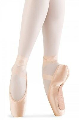 Bloch S0131L Women's 1.5B (Fits Size 3.5-4.5) Pink Serenade Pointe Shoes DEFECTS