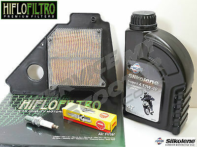 Yamaha Ybr125 2005-2016 Hiflo Service Kit, Oil, Spark Plug, Air Filter