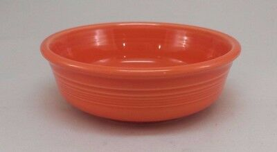 Fiestaware Poppy Small Bowl Fiesta Bright Orange Small 14.25 ounce Cereal Bowl