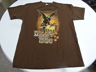 Fall Out Boy Eagle Logo T Shirt Size Medium