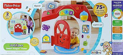 Fisher Price Laugh and Learn Smart Stages Home Playset