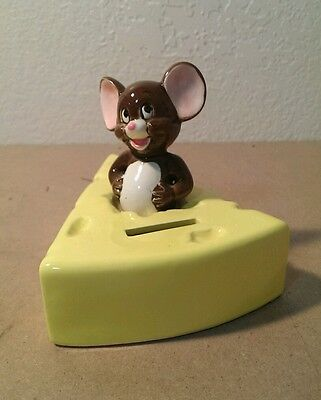 vintage Gorham Tom and Jerry ceramic cheese bank