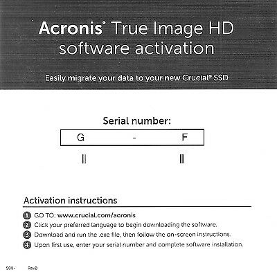 Acronis True Image HD 2015, Short Key, Digital Delivery, Emailed To You
