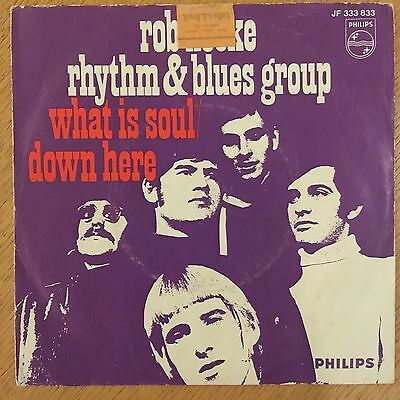 Rare 1967 Soul Funk Philips 45 Rob Hoeke R&B Group - What Is Soul? mp3 VG+