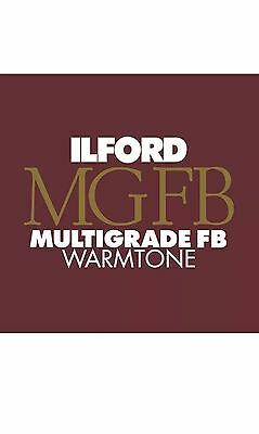 "Ilford Photographic Warmtone MGFB Paper 12x16"" 50 Sheets"