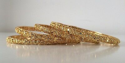 Bollywood Style/ Indian Jewellery/ Party wear/ 4 Bangles Gold