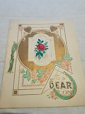 1950s christmas card used see pictures