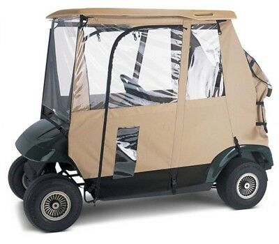 Classic Accessories Deluxe 3-Sided Golf Cart Enclosure Model 72042