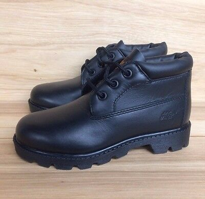 VINTAGE TIMBERLAND FIELD BOOT ROYAL BLUE WHITE YOUTH PS SZ 12-3C   16713 L
