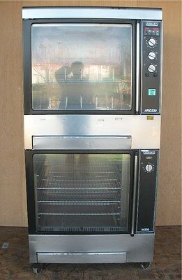 Hobart Electric Chicken Rotisserie Oven Display Cooker And Warmer Hro330 Hrw300