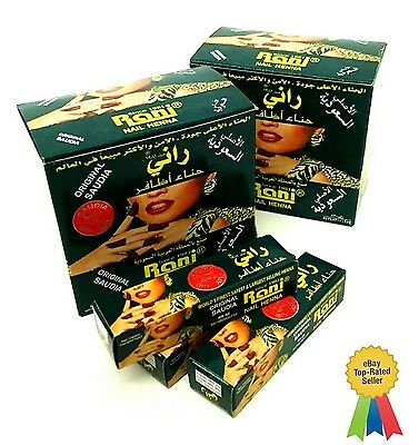 Saudia Original Rani Nail Henna Mendi Tube High Quality Made in Saudi