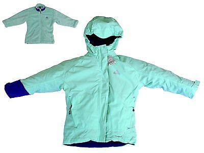 ADIDAS climaproof ( A98502 ), 3 in 1 Winterjacke Anorak Kinder Gr. 116 - 164