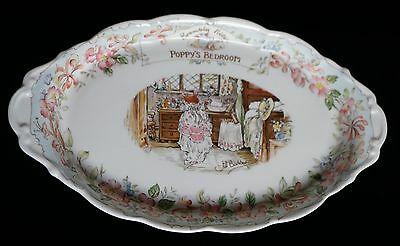 Royal Doulton Porcelain Tray ~ Brambly Hedge ~ Poppy's Bedroom ~ Jill Barklem