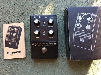 Moog MF Drive Minifooger Overdrive Boxed Superb Condition